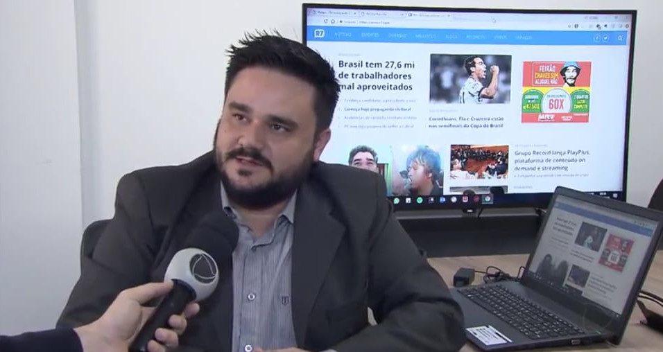 Matéria do Portal R7 - LEI DE PROTEÇÃO DE DADOS - Vídeo
