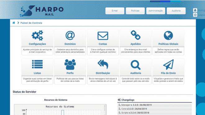 harpo_mail_controlpanel_home