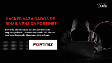 Hacker vaza dados de 50mil VPNs da Fortinet