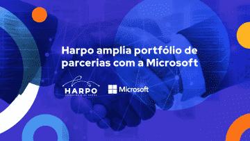 Harpo amplia portfólio de parcerias com a Microsoft